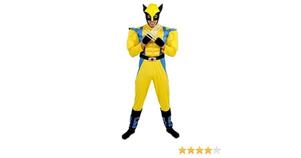 César - Disfraz para Hombre Lobezno X-Men (Marvel B463-001 ...