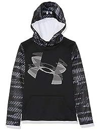 Under Armour Boys' Armour Fleece Sleeve Hoodie