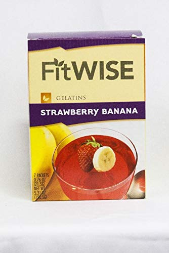 Fit Wise Strawberry Banana Gelatin