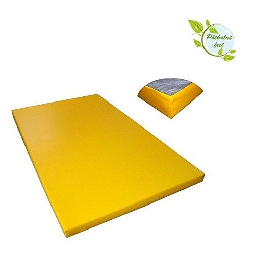ALPIDEX Matte Turnmatte Sportmatte Gymnastikmatte 200 x 120 x 8 cm mit Antirutschboden RG 20 (sehr weich)