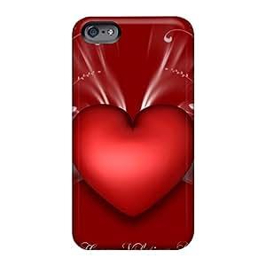 RichardBingley Apple Iphone 6 Shockproof Hard Phone Covers Customized Lifelike Happy Valentine Day Image [fZa23103PYgN]