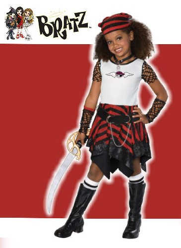 [Bratz Pirate Costume: Girl's Size 4-6] (Bratz Jade Kids Costumes)