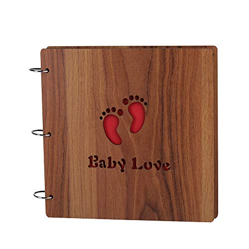 Large DIY Photo Album Wood Cover Baby Photo