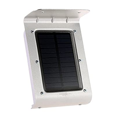 GenLed Weatherproof 16 Bright LED Wireless Solar Powered Motion Sensor Light