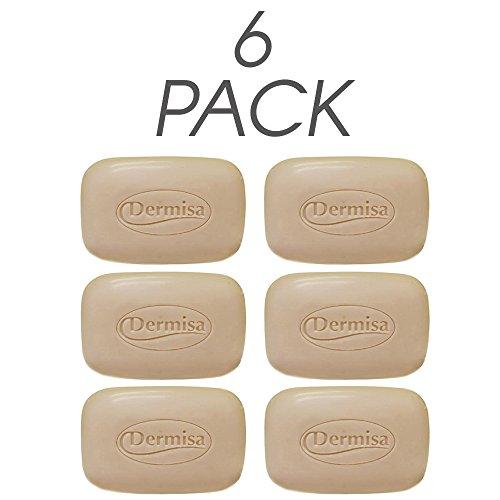 Exfoliating Oatmeal Dermisa (Dermisa Exfoliating Oatmeal Bar 3 Oz 6-pack)