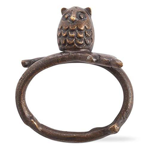 tag Oliver Owl Napkin Ring & Placecard Holder, Set of 6