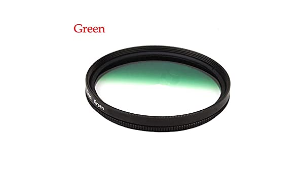 Market/&YCY Red Gradient Filter for Canon Nikon Sony All Brands of 58mm Digital SLR Camera Lens
