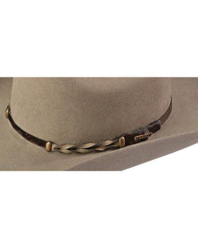 Stetson Men s Stone Portage 4X Buffalo Felt Cowboy Hat at Amazon Men s  Clothing store  Stetson Hat For Men Buffalo ea226a92f02