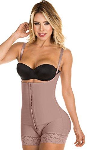 mbianas Reductoras Moldeadoras Lipo Express Control Postparto Para Adelgazar Curvas Abdomen cintura y Espalda Mujer Cocoa Brown M (Lipo Lift)