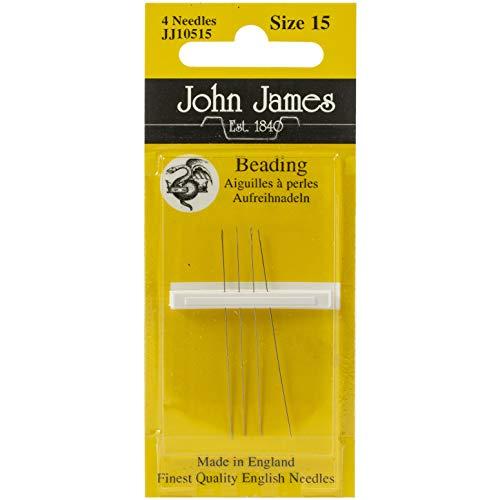 Colonial Needle John James Beading Hand Needles-Size 15 8/Pkg