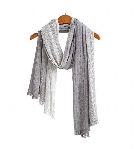 extra long cotton scarf - 2