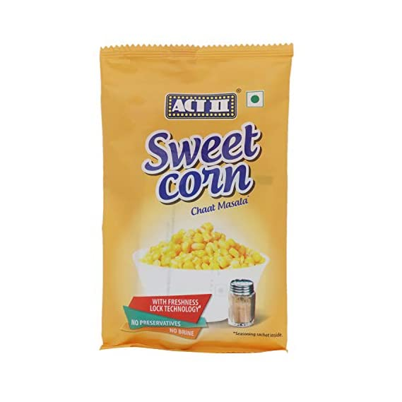 ACT II Sweet Corn (Chaat Masala) 81.5g