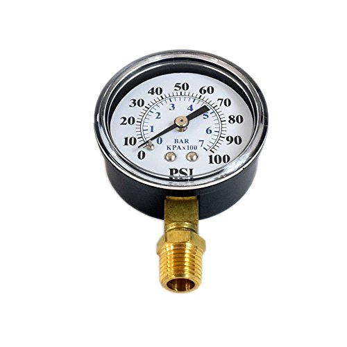 Simer TC2104 Pressure Gauge Genuine Original Equipment Manufacturer (OEM) Part for Simer by Simer
