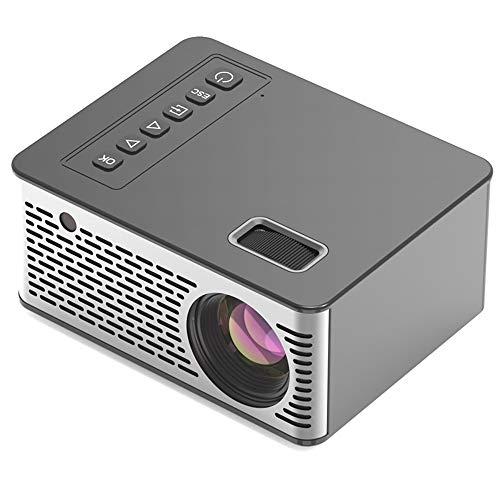 ZSLD HD Mini-Projektor, 2019 Neuer Pocket Projector, 1080P Und 150″ Display Beweglichen Projektor Mit LED-Lampe, USB, TF Kompatibel Mit Laptop Unterstützte
