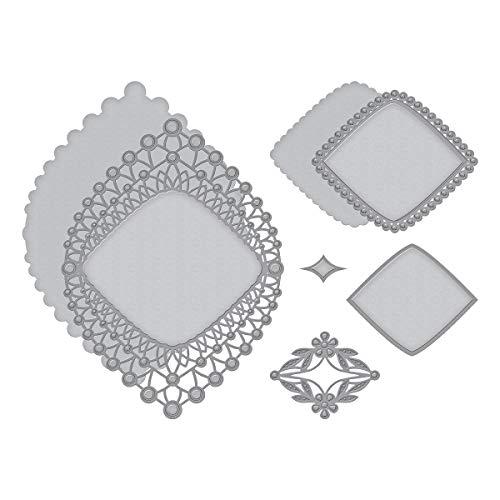 Spellbinders S5-394 Shapeabilities Nobel Chatelaine Etched/Wafer Thin Dies Metal ()