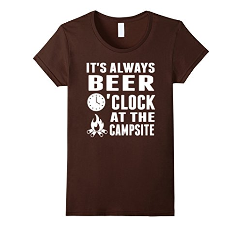 Beer-O-Clock-At-The-Campsite-Beer-and-camping-Tshirt