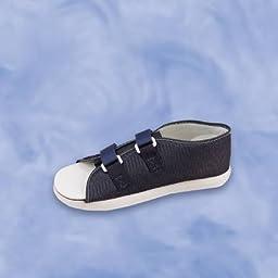 Sammons Preston Post-Op Shoe Large Navy Blue Male