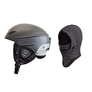 Demon Phantom Helmet with Brainteaser Audio and Free Balaclava