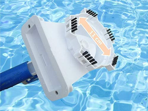 Limpiafondos manual para piscinas con batería litio recargable Poolwonder v2 aspirador para piscinas: Amazon.es: Jardín