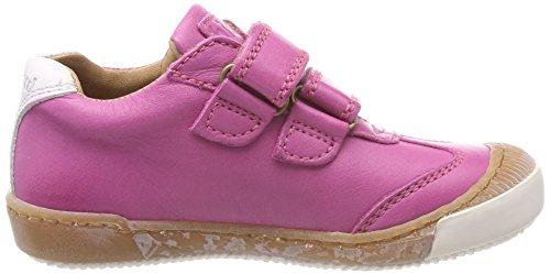Bisgaard Mädchen Klettschuhe Sneaker Pink (Pink)