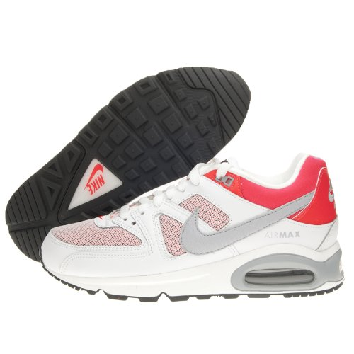 Nike - Zapatillas de running Air Max Command WHITE/WOLF GREY -LASER CRIMSON