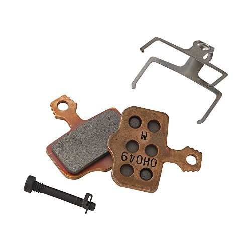 Avid Elixir Disc Brake Metal Pads with Steel (Back)