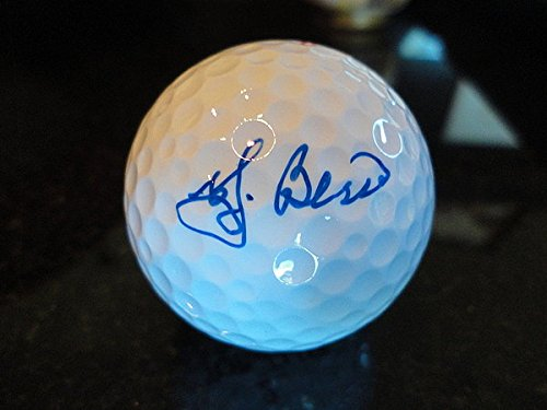 Yogi Berra Hand Signed - 9