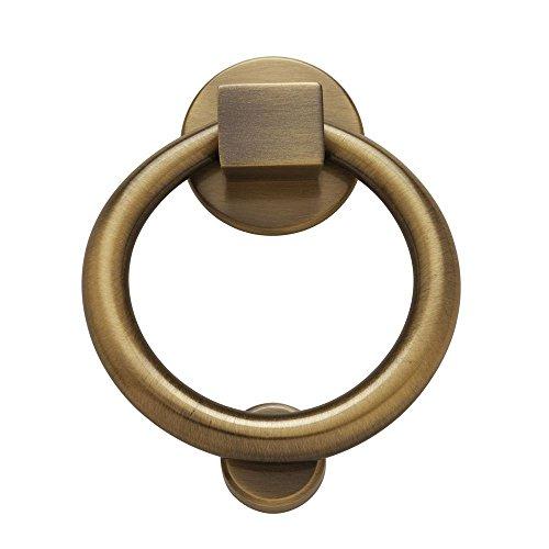 Baldwin 0195050 Ring Door Knocker, Antique Brass