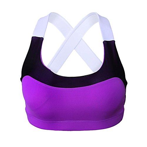 Darkey Wang Sport Vest Womens Yoga Clothes Activewear Cross Belt Sports - Belted Belt Ruby