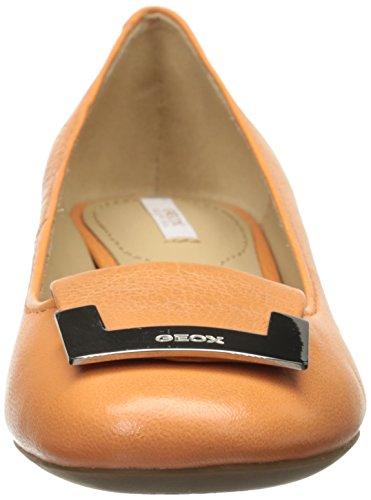 GeoxGeox Carey Pumps orange - D52V8A - Cerrado Mujer Naranja - naranja