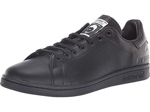 - adidas by RAF Simons Unisex RAF Simons Stan Smith Core Black Solid Grey Cream White 4.5 M UK Medium