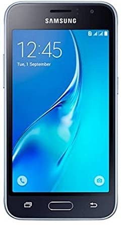 Samsung J120 (Black) Smartphones at amazon