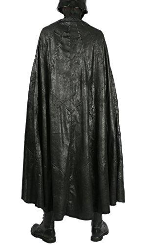 Xcoser Costume - Kylo Ren Cape Deluxe Last Jedi SW 8 Cosplay Black Cloak Free Size Prop Adult