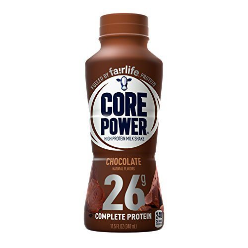 Core Power by fairlife High Protein (26g) Milk Shake, Chocolate, 11.5 fl oz bottles, 12 count