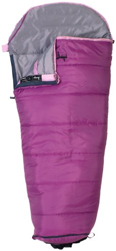 Slumberjack Go-N-Grow Girls 30 Degree Synthetic Sleeping Bag, Outdoor Stuffs