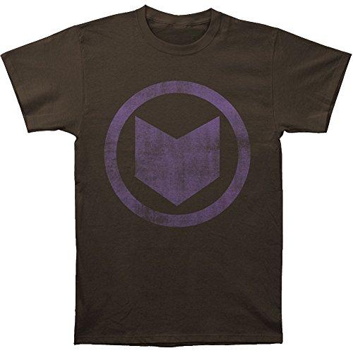 Hawkeye Mens Distressed Icon T shirt