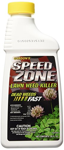 PBI/Gordon 652400 Speed Zone Lawn Weed Killer, 20-Ounce - Brown/A
