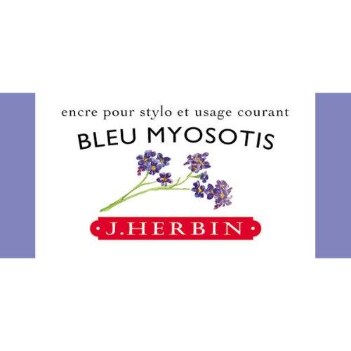 J. Herbin Fountain Pen Ink 30Ml Bleu Myosotis