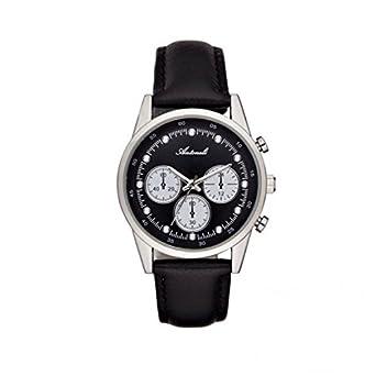 Armbanduhr antoneli Leder schwarz 35 mm al5300 – 02