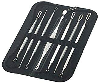 Dr. Gilmore s Blackhead Removal Tools 7 Comedone Extractors Zit Popping Pack