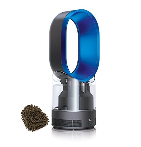 Iron|Blue Dyson 303515-01 AM10 Humidifier (Complete Set) w| Bonus: Premium Microfiber Cleaner Bundle