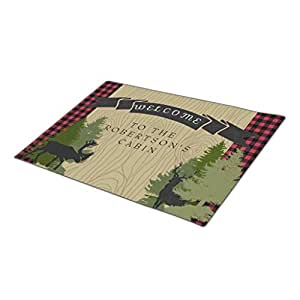 RealYou Forest Lake Holiday Doormats