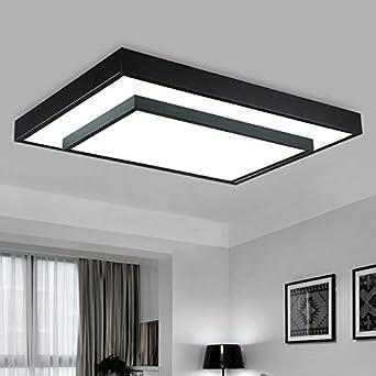 Led Zimmer Lampe Rechteckige Stimmungsvolle Minimalistische Moderne  Stilvolle Schmiedeeisen Schlafzimmer Lampe Deko Acryl,40 *