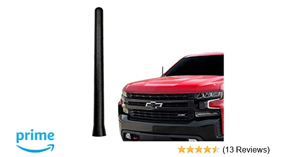 2006 Made in USA 4 RED Aluminum Antenna is Compatible with Chevrolet Suburban 1500 AntennaMastsRus