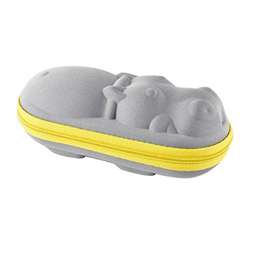 Creative Cartoon Form Perfect Sunglasses/Eyeglasses Case For Kids - Animal Gray from Kylin Express