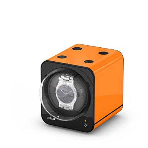 BOXY Fancy Brick Single Automatic Watch Winder - Orange (Add On)