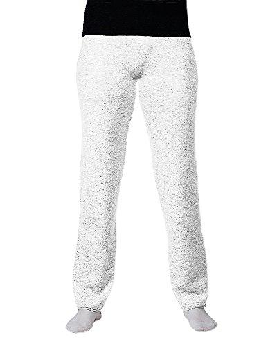 Pantalones 100% De Cachemira Blanco