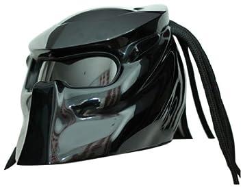 Casco de Moto Predator x1 Black base made by xFF Fiber Factory