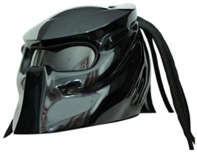 CASCO DE MOTO PREDATOR X1 BLACK AIRBRUSH MADE BY XFF FIBER FACTORY