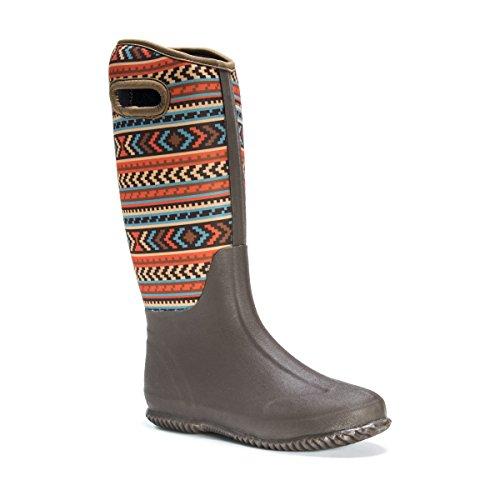 Lluvia para Zapatillas Marrón MUK LUKS Mujer de CnqwUWa